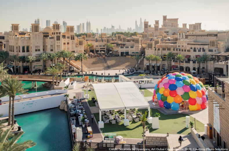 Image credit: Solaroca by Opavivara, Art Dubai Commissions 2019. Courtesy Photo Solutions